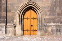 Kirchentür, Eiche